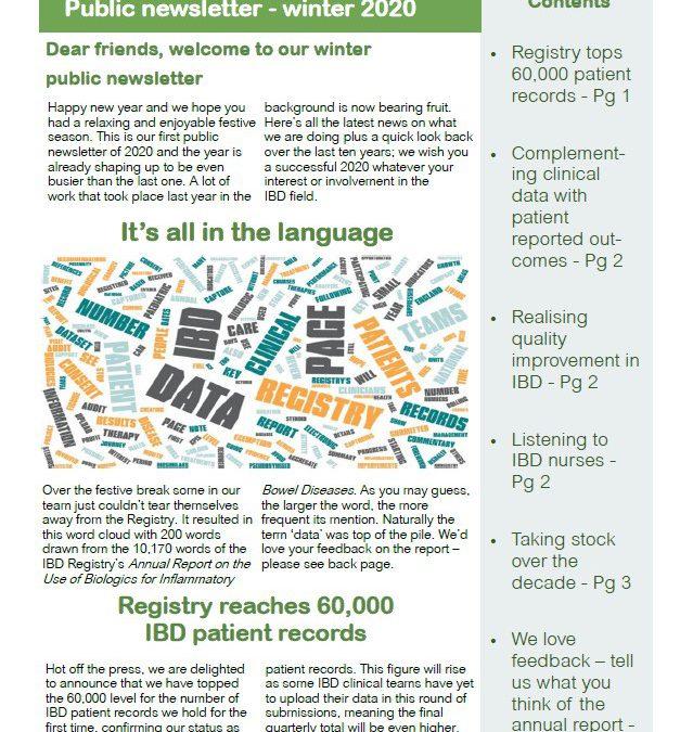 Winter 2020 public newsletter